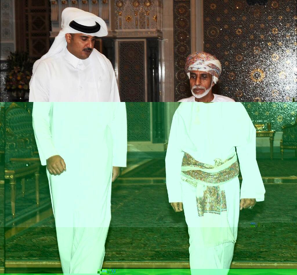 أمير قطر يدعو سلطان عمان لحضور القمة الخليجية الـ35