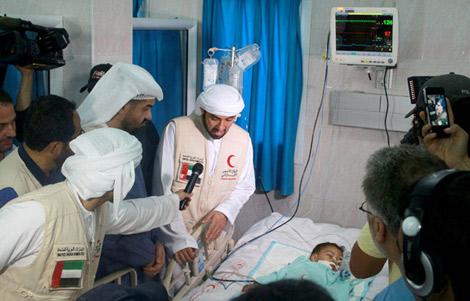 الشيخة فاطمة بنت مبارك تتكفل عائلتي مسعفين استشهدا في غزة