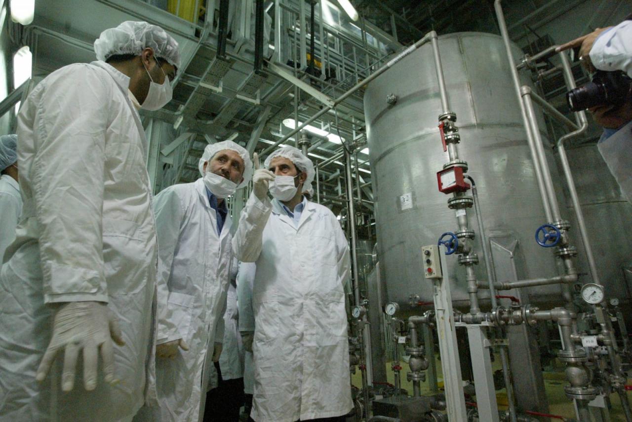 واشنطن تشتري 32 طناً إيرانياً من المياه النووية الثقيلة