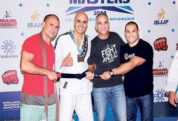 الإمارات تحصل على المركز الثاني عالميا في لعبة الجوجيتسو
