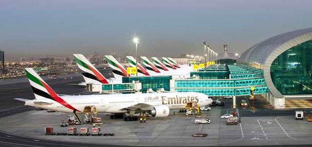 ارتفاع أعداد المسافرين عبر 3 مطارات إماراتية بنسبة 4.86 بالمائة