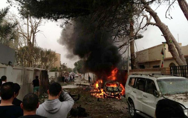 اغتيال رئيس منظمة مكافحة الفساد التابعة لحفتر وسط بنغازي