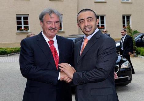 عبدالله بن زايد يبحث مع وزير خارجية لوكسمبورغ العلاقات الثنائية