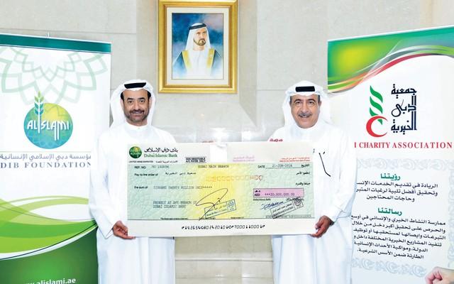 20 مليون درهم زكاة مؤسسة دبي