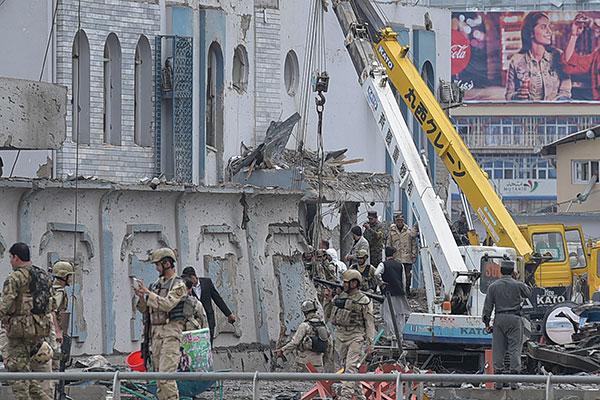 استهدف مقرا للمخابرات.. مقتل 40 في هجوم دام بكابول تبنته طالبان