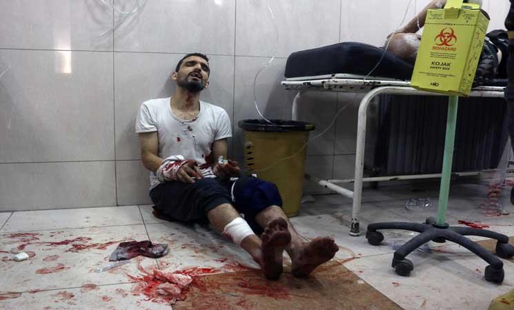 مديرية صحة حلب تعلن توقف جميع مشافي المدينة عن العمل