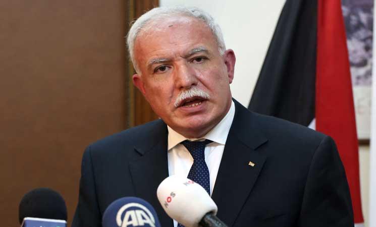 وزير الخارجية الفلسطيني ينكر وجود مبادرة السيسي للسلام