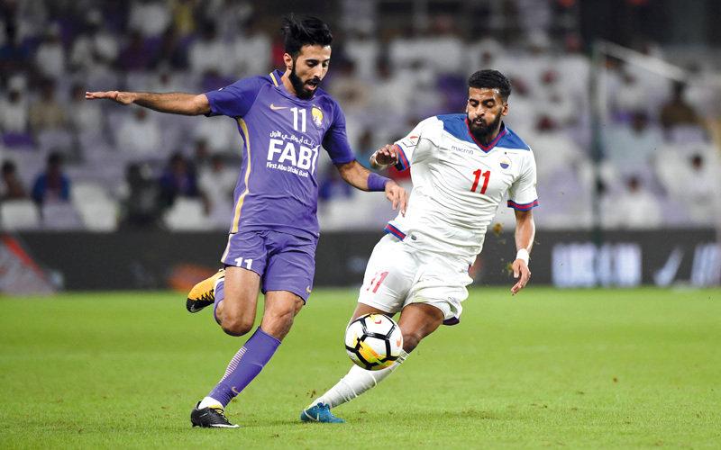 مساء اليوم.. الشارقة يستضيف في أرضه فريق العين ضمن دوري الخليج