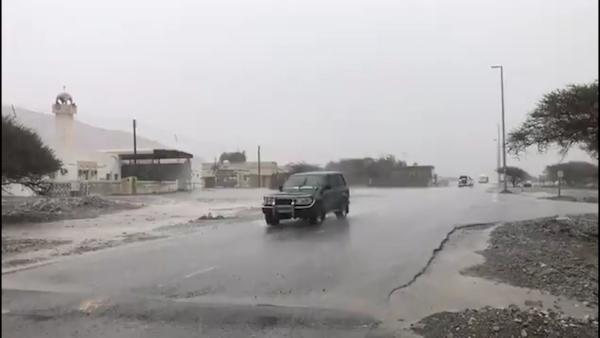 هطول أمطار متفرقة على الدولة تستمر حتى غد الاثنين