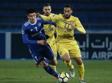 الوصل يخسر أمام ناساف الأوزبي على حساب الأندية الإماراتية