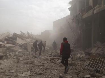 اليوم.. مقتل 25 مدنياً في قصف للنظام السوري على الغوطة الشرقية