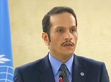 قطر: سلوك دول الحصار يظهر التناقض بين سياستها ومواقفها في مجلس حقوق الإنسان