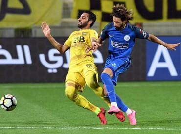النصر يهزم الوصل بركلتي جزاء في ديربي برد دبي