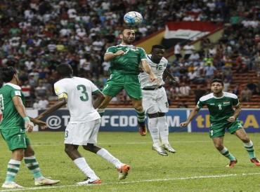 منتخب العراقي يفوز على نظيره السعودي برباعية في ملعب البصرة